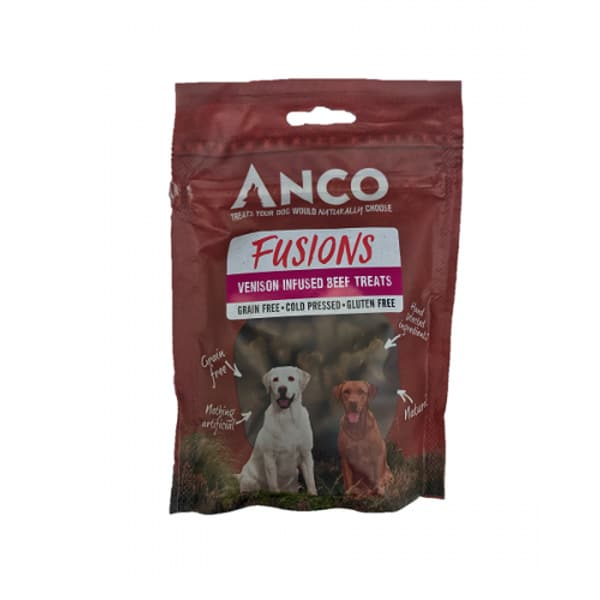 Anco Fusions Venison Infused Beef Treats