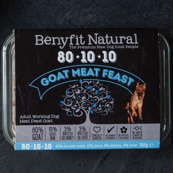 Benyfit Natural 80.10.10 Goat Meat Feast
