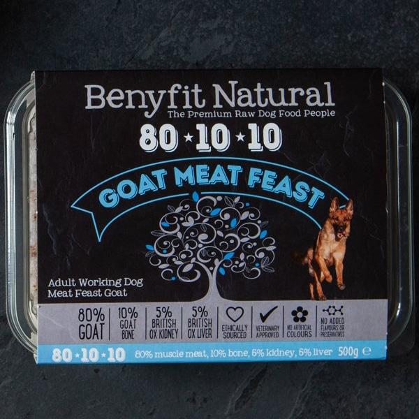 Benyfit Natural 80.10.10 Goat Meat Feast