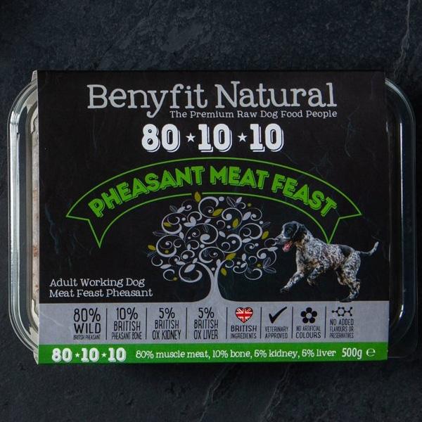 Benyfit Natural 80.10.10 Pheasant Meat Feast