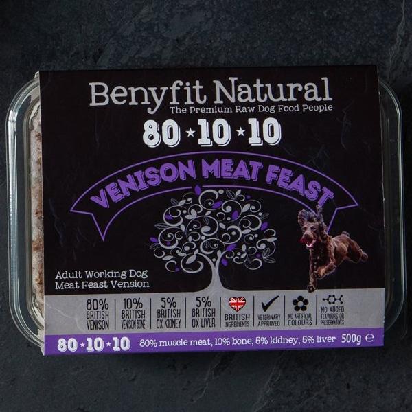 Benyfit Natural 80.10.10 Venison Meat Feast