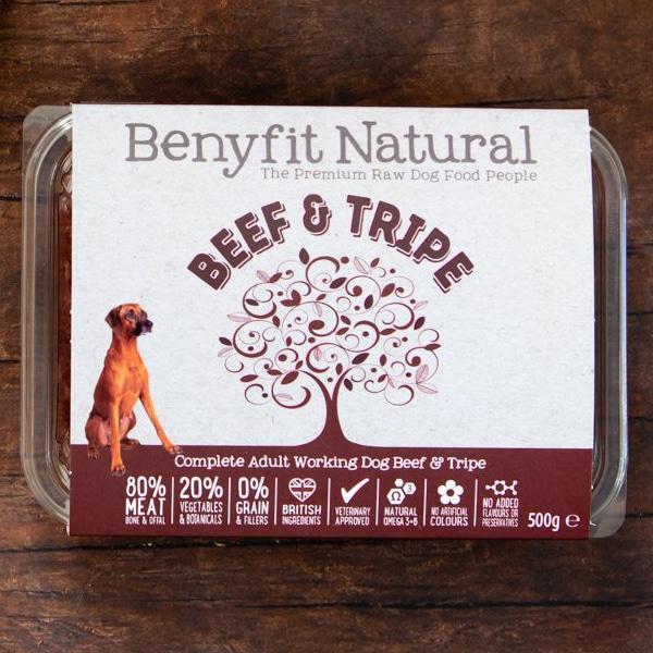 Benyfit Natural Beef & Tripe