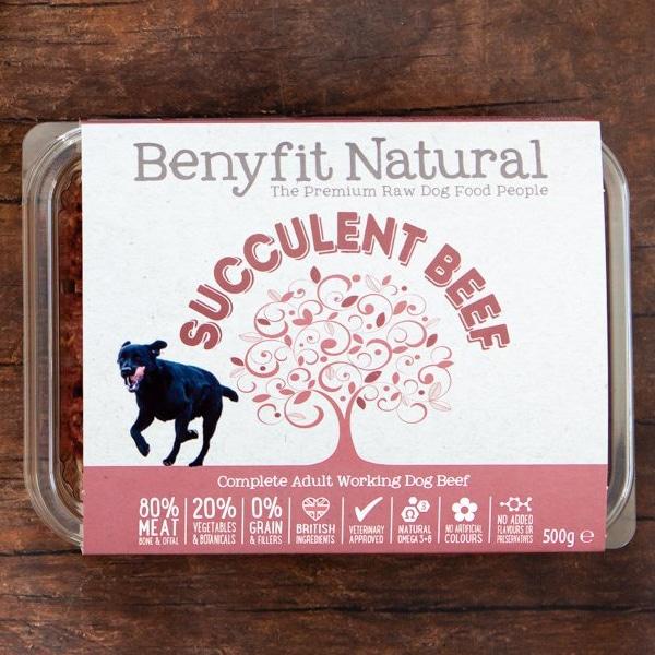 Benyfit Natural Succulent Beef