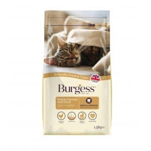 Burgess Adult Cat Chicken & Duck