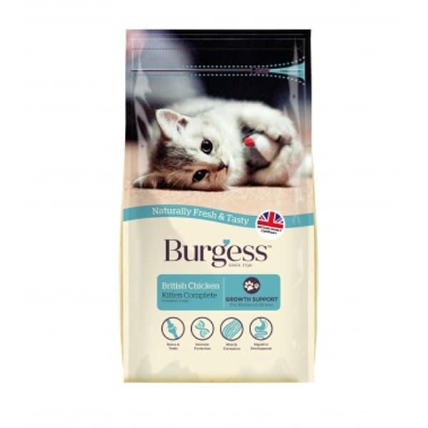 Burgess British Chicken Kitten Complete