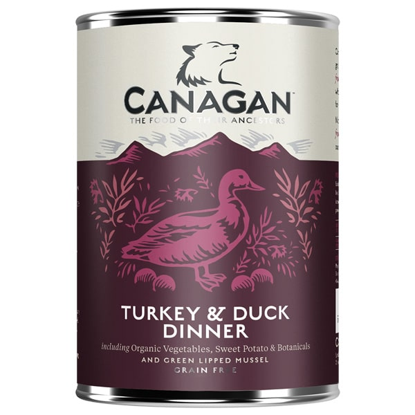 Canagan Dog Turkey & Duck Dinner