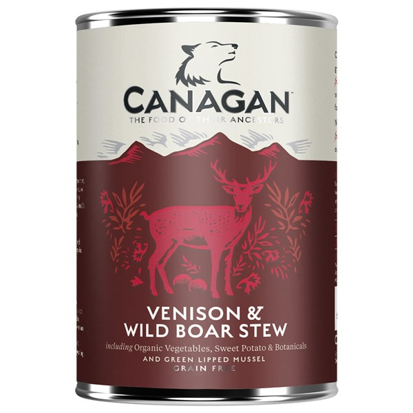 Canagan Dog Venison & Wild Boar Stew