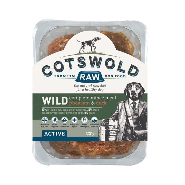 Cotswold Wild Pheasant Duck Mince