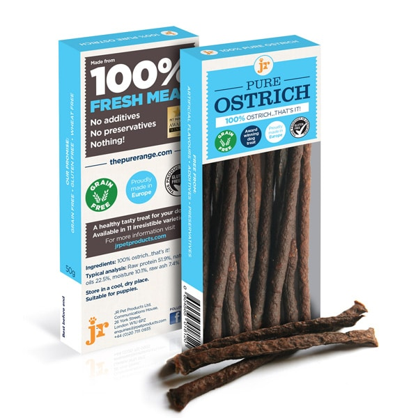 JR Pure Ostrich Meat Sticks