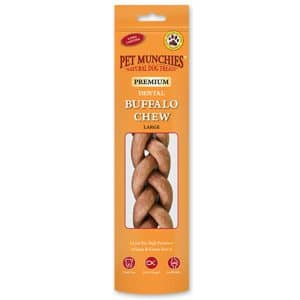 Pet Munchies Buffalo Chews Large