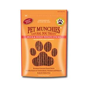 Pet Munchies Duck & Sweet Potato Sticks