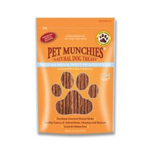 Pet Munchies Wild Salmon & Sweet Potato Sticks