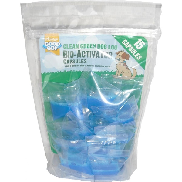 Armitage Good Boy Clean Green Dog Loo Capsules