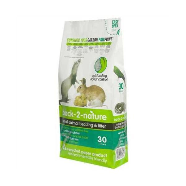 Back 2 Nature Small Animal Biodegradeable Paper Litter