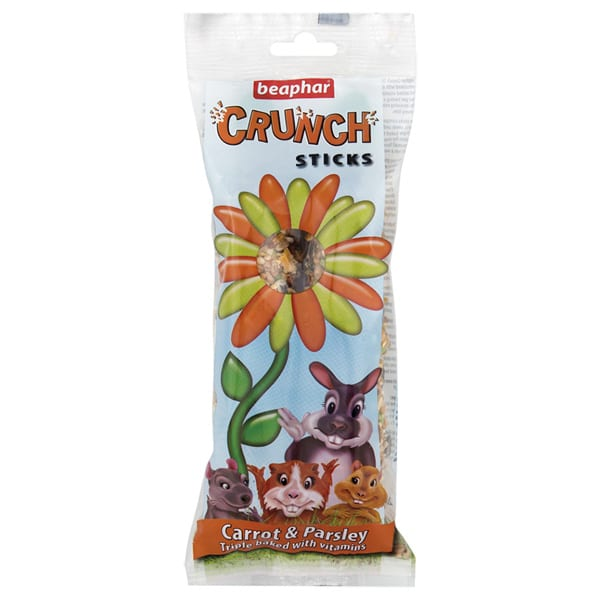 Beaphar Crunch Sticks Carrot & Parsley