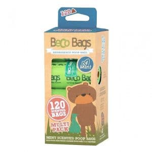 Beco Degradable Poop Bags Mint Scented 120