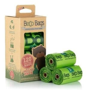 Beco Degradable Poop Bags Unscented 120