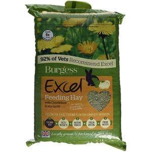 Burgess Excel Feeding Hay