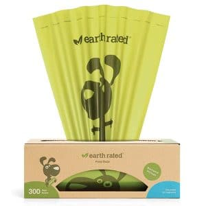 Earth Rated Backyard Pickups 300 Bags Unscented