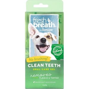 Fresh Breath By TropiClean Clean Teeth Oral Care Gel