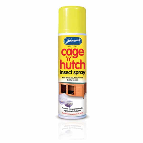 Johnsons Cage Hutch Spray