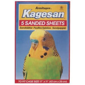 "Kagesan 6 Sanded Sheets - Cage Size 17""x11"" (43x28cm)"