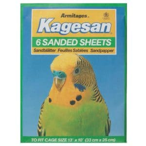 "Kagesan 6 Sanded Sheets - Cage Size 13""x10"" (33x25cm)"