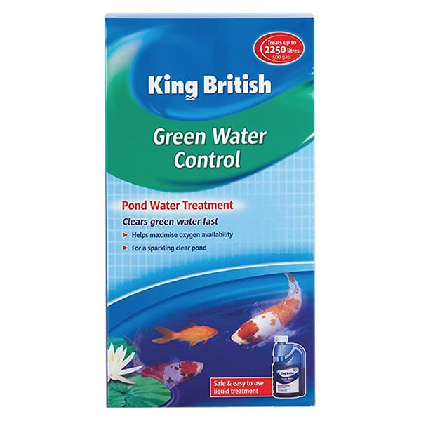 King British Green Water Control Pond Water Treatment