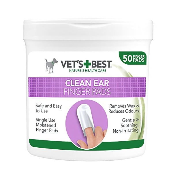 Vets + Best Clean Ear Finger Pads