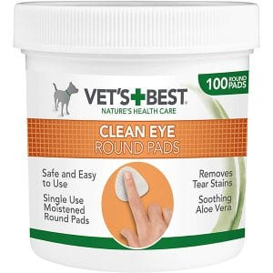 Vets+Best Clean Eye Round Pads