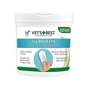 Vets+Best Clean Teeth Finger Pads