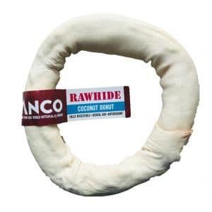 Anco Coconut Rawhide Donut Medium