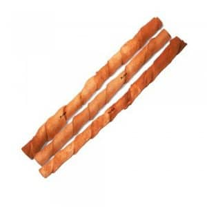 BRAVO Peanut Butter Twisted Stick Dog Chew 10""