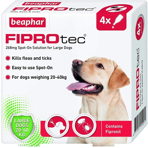 Beaphar Fiprotec Large Dogs