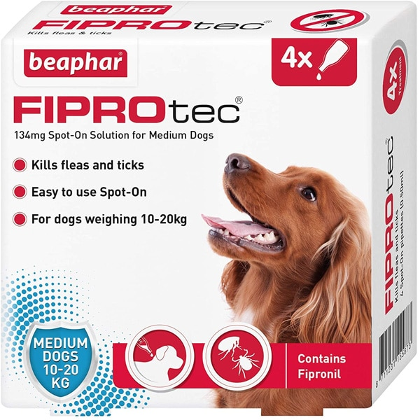 Beaphar Fiprotec Medium Dogs