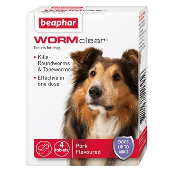 Beaphar Wormclear Pork Upto 40kg