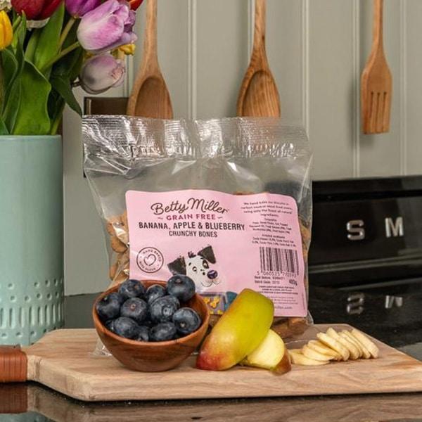 Betty Miller Banana Apple Blueberry Crunchy Bones