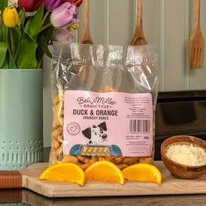 Betty Miller Duck & Orange Crunchy Bones