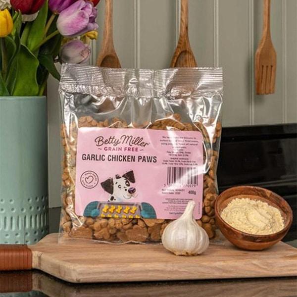Betty Miller Garlic Chicken Paws