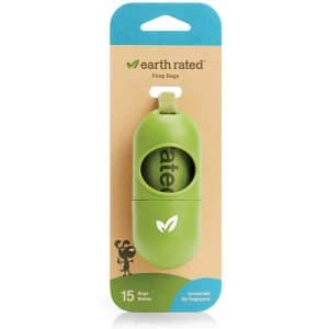 Earth Rated Lead Dispenser For Dog Waste Bags Unscented