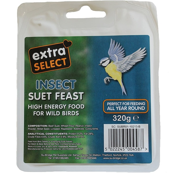 Extra Select Insect Suet Feast