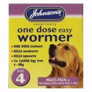 Johnsons One Dose Easy Wormer