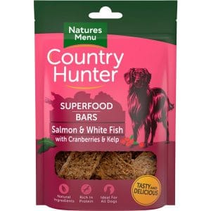 NaturesMenu Country Hunter Superfood Bars Salmon & White Fish
