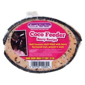 Suet To Go Coco Feeder Berry Recipe
