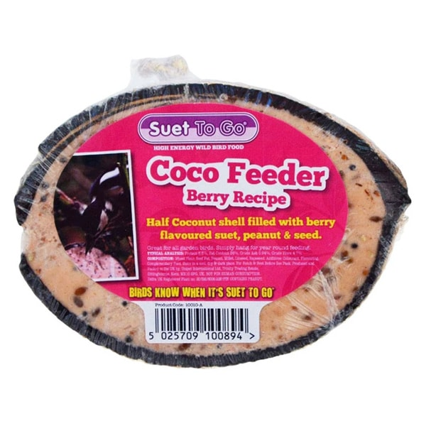 Suet To Go Coco Feeder Berry Recipe
