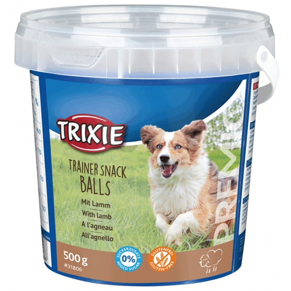 Trixie Trainer Snack Balls With Lamb