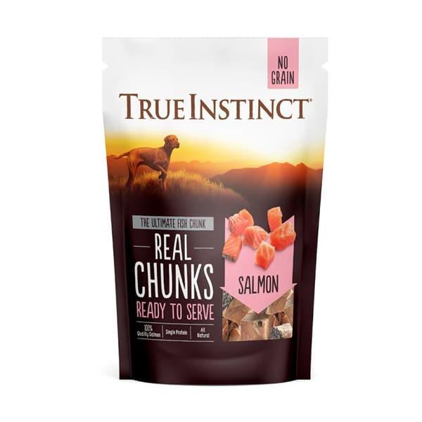 True Instinct Salmon Chunks